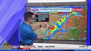 May 6, 2021 - WCIA 3 Tornado Coverage