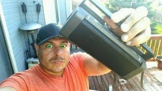 HMDX JAM Party BoomBox Bluetooth wireless Speaker 12Hrs Battery