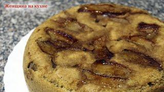 Очень вкусный и простой пирог из Груш Как приготовить пирог в мультиварке