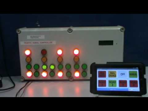 Traffic Light Manual Control via Android Mobile Phone