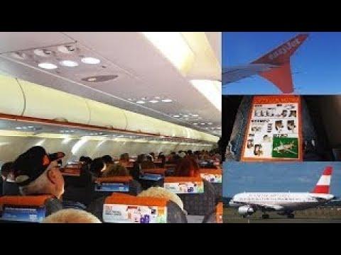 easyJet | Airbus A320-214 | Manchester to Copenhagen *Full Flight*