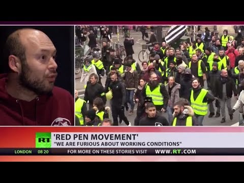 From Yellow Vests to Red Pens: France braces for 10th consecutive weekend of protests