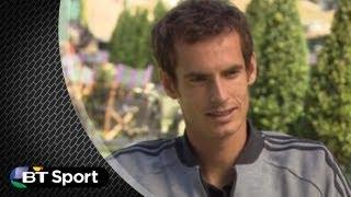 2013 Wimbledon Champion Andy Murray talks to BT Sport | #BTSport