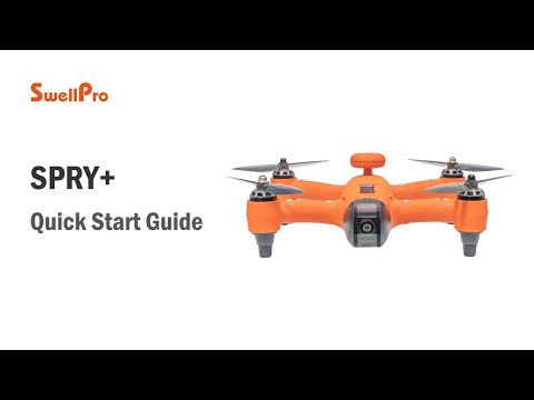Spry+ Waterproof Drone Quick Start Tutorial thumbnail