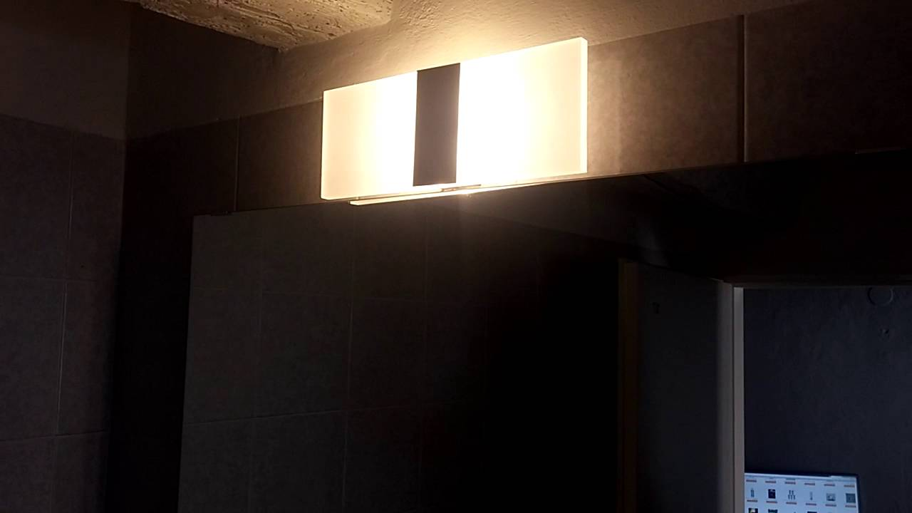 Modern linear led wall sconce light aisle corner hallway black modern linear led wall sconce light aisle corner hallway black warm white light by gearbest amipublicfo Image collections