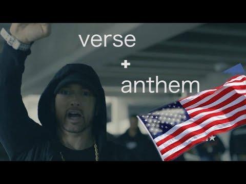 Eminem Freestyle + National Anthem