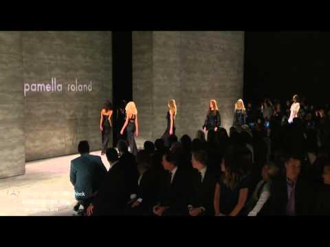 PAMELLA ROLAND: FINAL WALK AT MBFW NY F/W 2015 COLLECTIONS