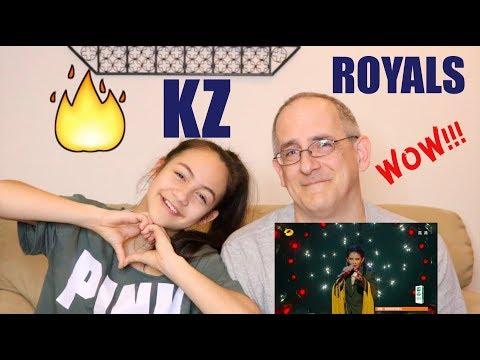 KZ Tandingan - Royals | Singer 2018 | Episode 9 | REACTION