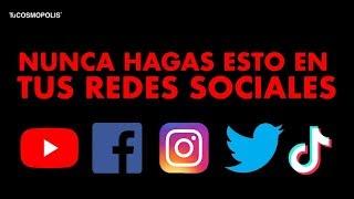 5 COSAS que DEBERÍAS BORRAR de TUS REDES SOCIALES INMEDIATAMENTE SEGÚN EXPERTOS