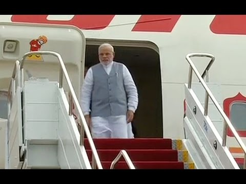 BRICS Summit: PM Narendra Modi lands Brazil