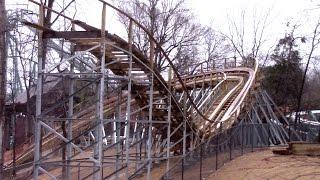 InvadR January 2017 Construction Update  Busch Gardens Williamsburg