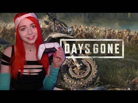 Видео: Days Gone прохождение на русском #4 ночная байкерша PS5