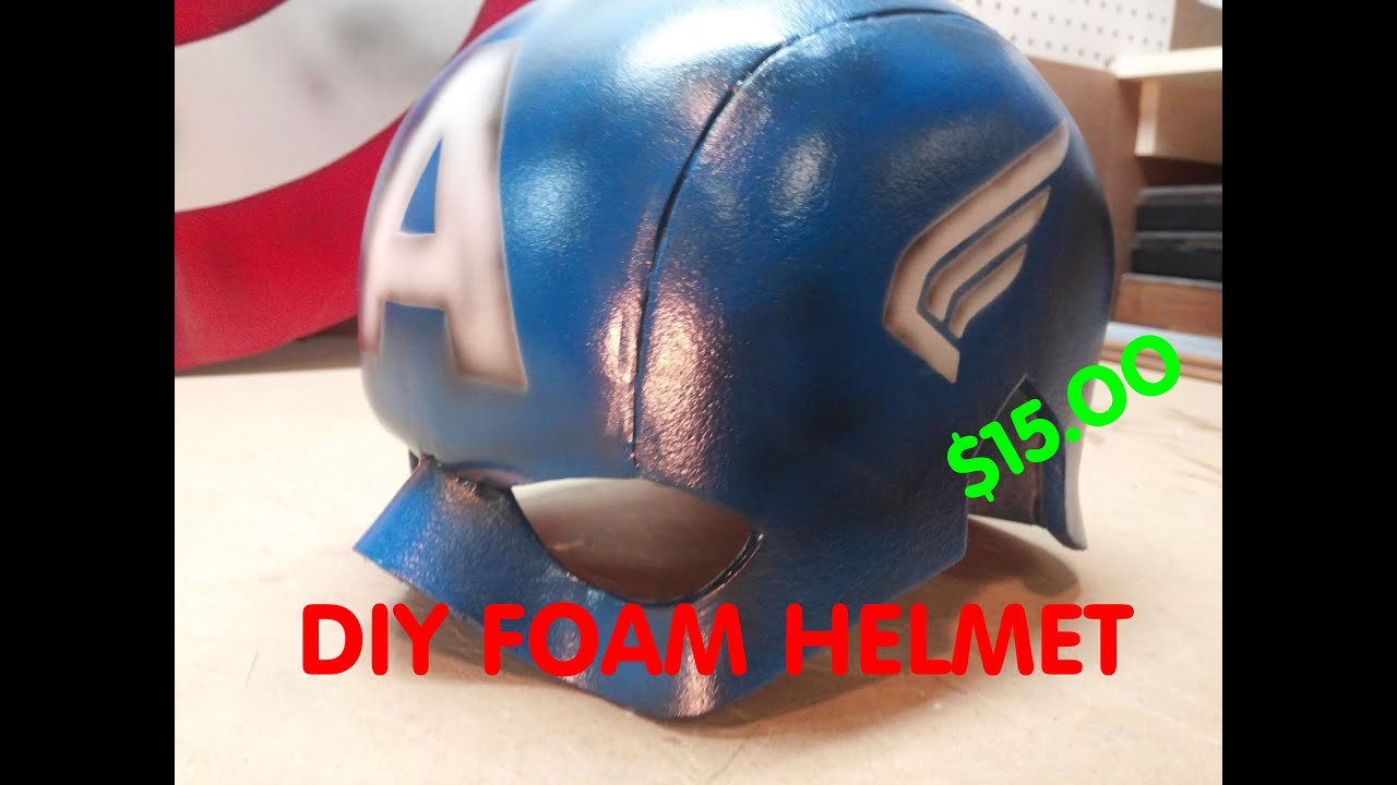 Diy captain america helmet e3 youtube pronofoot35fo Image collections
