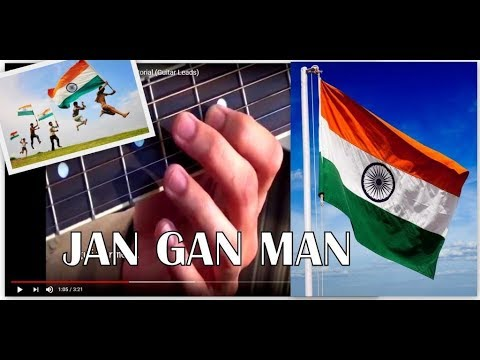 Jana Gana Mana - Indian national anthem (lead+ chords+ ...