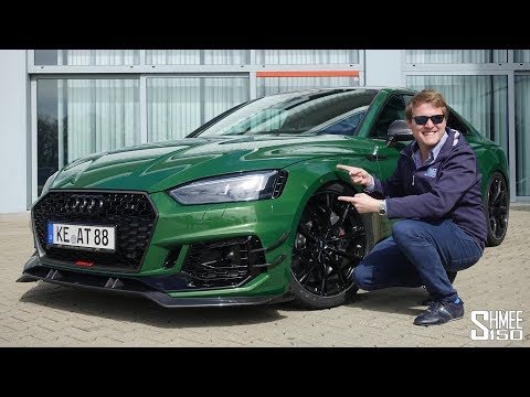 280km/h Abt RS5-R Test Drive on the Autobahn!   REVIEW