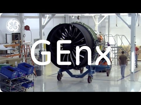 The GEnx Jet Engine | GE Aviation