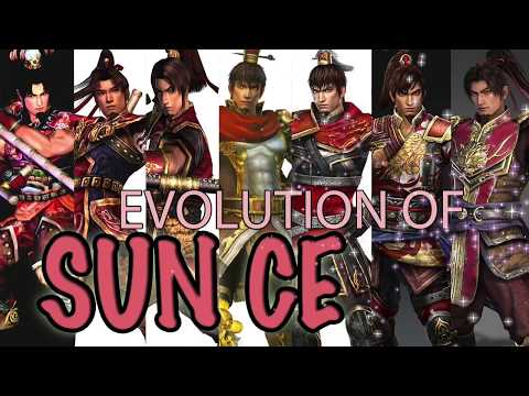 Evolution of Sun Ce from DW3 to 9