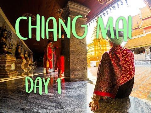 CHIANG MAI | THAILAND VLOG DAY 1: DOI SUTHEP | WAROROT MARKET