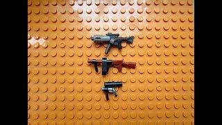 Собираем оружия из Lego (Самоделка # 30)