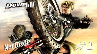 GAMEPLAY PS2 DOWNHILL DOMINATION PARTE 1 | NECTOSDE