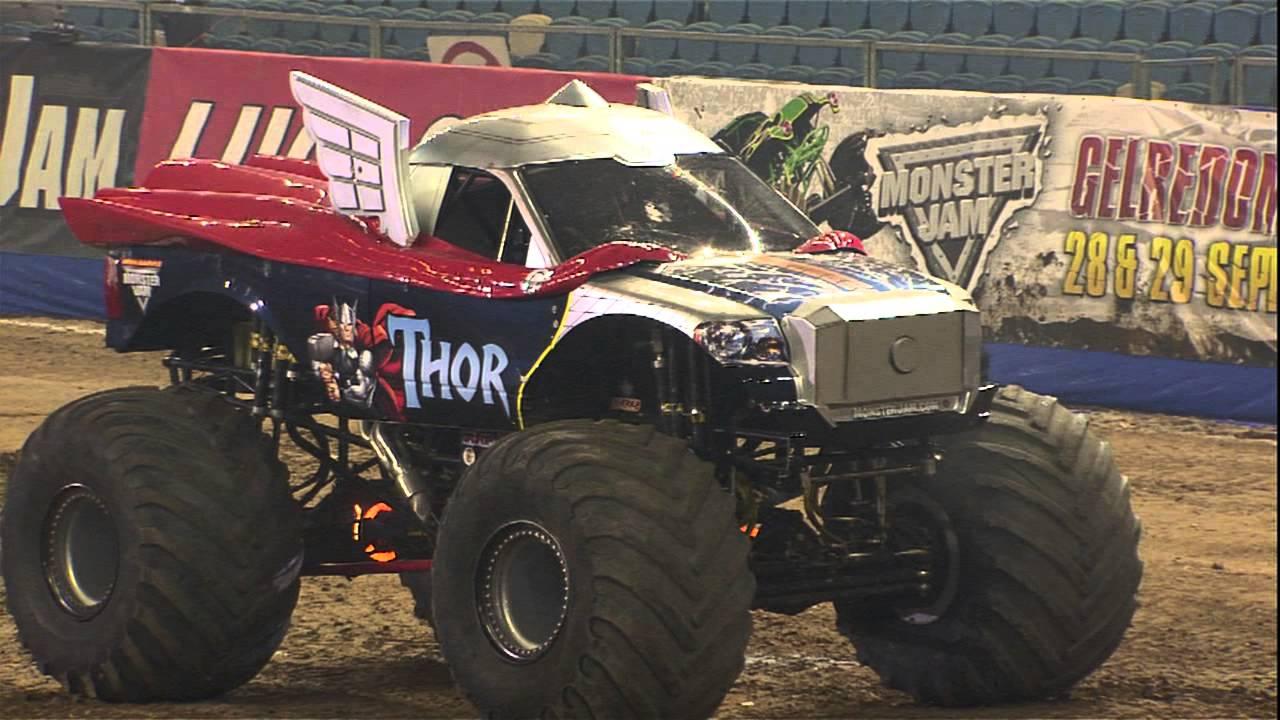 Monster Jam Thor Vs Monster Energy Monster Truck