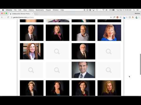 Collaborative Divorce Professionals Website Analysis
