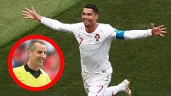 Marokko sauer: Schiri war Ronaldo-Fanboy. ?
