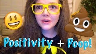 HOW I TRY TO STAY POSITIVE 💛 Eating Disorder Q&A Part 3