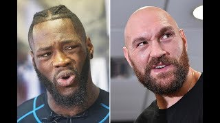 TYSON FURY SAYS DEONTAY WILDER LIED ABOUT SIGNING TO REMATCH NEXT AFTER LUIS ORTIZ!!