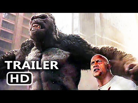 RАMPАGE Official Trailer # 3 (2018) Dwayne Johnson Monster Action Movie HD