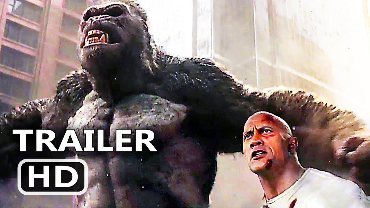 Download RАMPАGE Official Trailer # 3 (2018) Dwayne Johnson Monster Action Movie HD