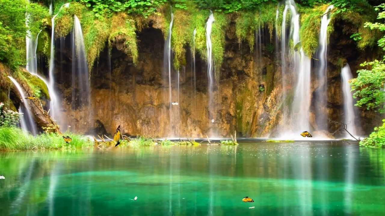 charm waterfall animated wallpaper http://www.desktopanimated