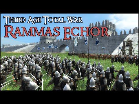 DEFENSE OF RAMMAS ECHOR - Third Age Total War Gameplay