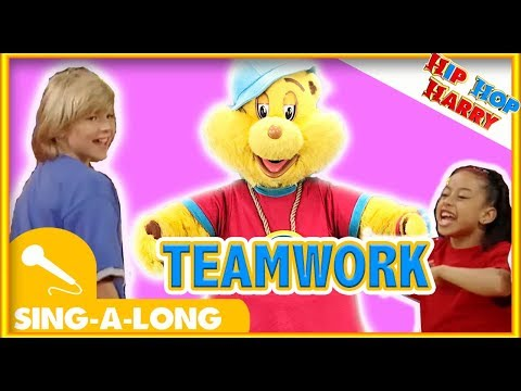 Team Work | Sing Along | Kids Songs | With Hip Hop Harry ft. Sophina The Diva