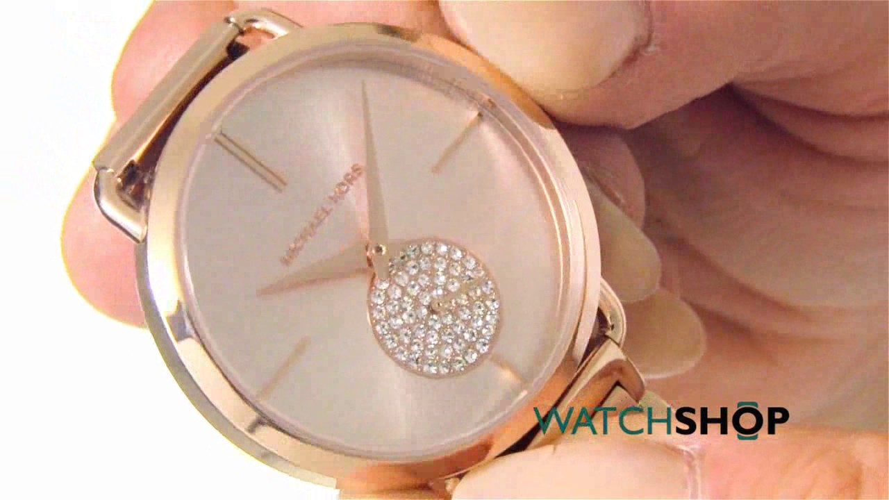 4ed2173a781a Michael Kors Ladies  Portia Watch (MK3640) - YouTube