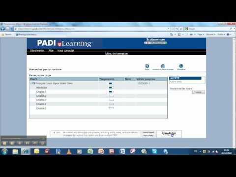 PADI eLearning english
