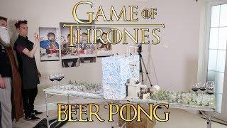 GAME OF THRONES BEER PONG (Red Wedding Wine Pong) | WheresMyChallenge