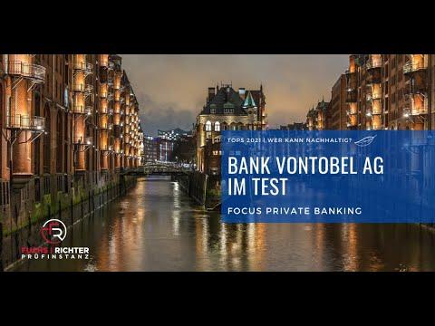 Die Beratung bei Vontobel im Fokus Private Banking
