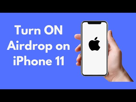 iPhone 11 : How to Turn ON Airdrop on iPhone 11 / 11 Pro / 11 Pro Max