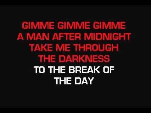 Abba   Gimme Gimme Gimme Karaoke
