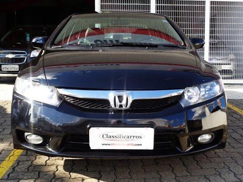 Perfect Honda New Civic LXS 1.8 16v Automático (Flex)   2009