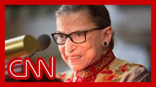 Ruth Bader Ginsburg: A look back at her life