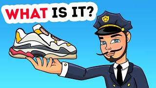 HYPEBEAST SNEAKERS? HARD RIDDLES FOR CRIME EXPERTS