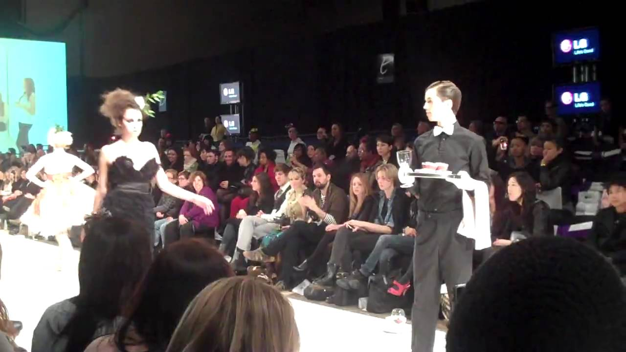 Toronto Lg Fashion Week 2010 Ryerson School Of Fashion Pt 1 Youtube