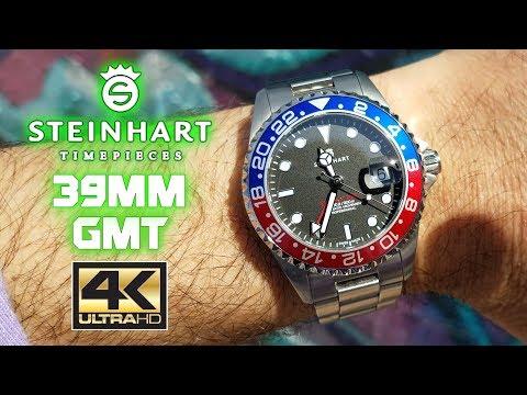 4k UHD Steinhart 39mm GMT - Part 2 Ultra HD