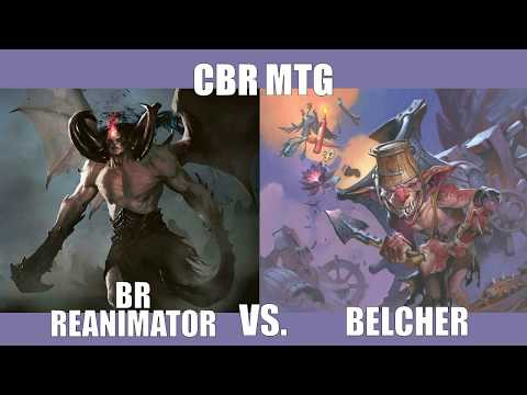 CBR MTG - LEGACY:  Angus McKay (RB Reanimator) vs Lachlan Saunders (Belcher)