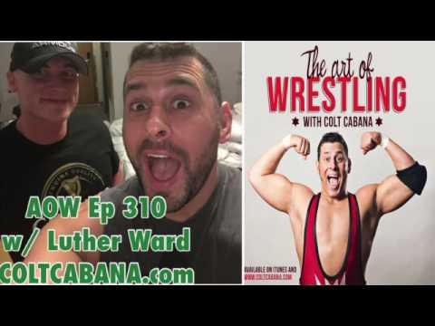 Luther Ward - Art of Wrestling Ep 310 w/ Colt Cabana