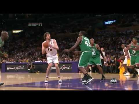 2010 NBA Finals Lakers Highlights vs Celtics Game 2
