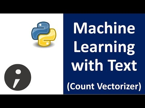 Machine Learning with Text  - Count Vectorizer Sklearn (Spam Filtering example Part 1 )