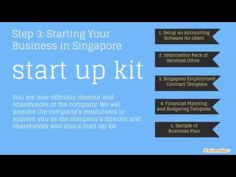 A Step by Step  Guide to Register A Singapore Company